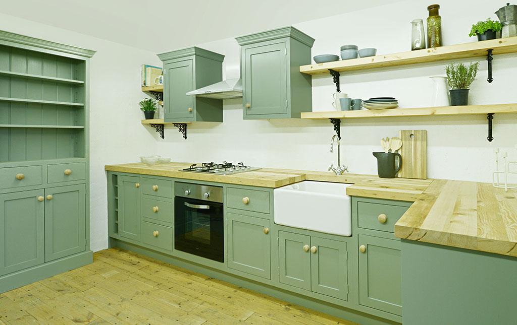 Bespoke kitchens from Dulwich Reclamation