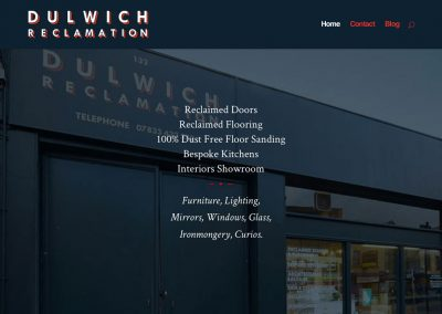 Dulwich Reclamation Intro Screengrab