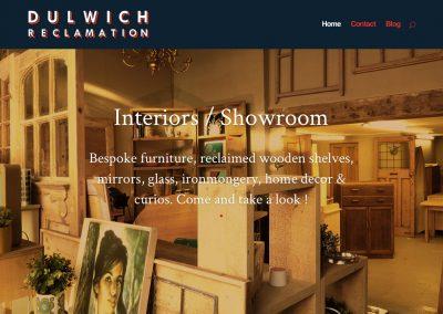Dulwich Reclamation Showroom Screengrab